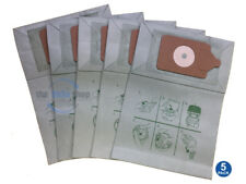 5 x NUMATIC HZQ-200 & HZQ-250 Vacuum Cleaner Double Layer Filtration Dust Bags