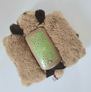 Pillow Pets Dream Lites Night Light Brown Dog Plush Toy Colour Changing Battery