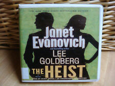 THE HEIST (Fox and O'Hare) Lee Goldberg and Janet Evanovich (2013, CD, Unabrid