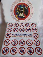 COKEHEAD HIPSTERS - HOW FAR WILL YOU GO - OZ CD INC BONUS TRK - PUNK - SKA