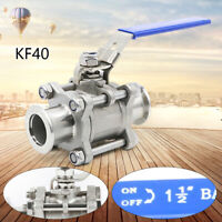 KF40 Ball Valve Vacuum isolation both sides flange Stainless Steel Body USA