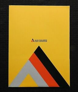 "1976 ""ALLIS-CHALMERS LEASE PURCHASE RENT"" EQUIPMENT FINANCING BROCHURE & FOLDER"