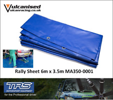 TRS PVC Pro Blue 4 x 8m Heavy Duty Rally Race Car Pit Service Floor Ground Sheet
