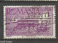 Rumänien Nr.   609  gest.   rumänische Eisenbahn  Feier Ceferiada
