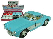 """New Kinsmart Diecast Car 5"""" 1957 CHEVROLET CORVETTE CHOOSE A COLOR"""