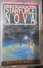 Starforce Nova (Mastertronic, 1987)  C16/ +4 (Tape, Manual, Box) 100% ok