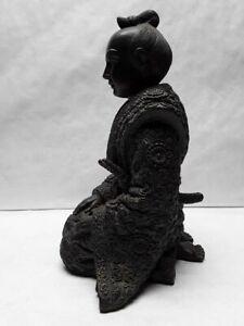 LLPJapanese Taisho - Showa Okimono of a Samurai