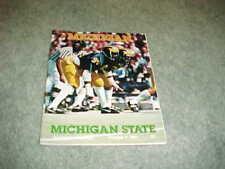 1982 Michigan State Spartans v Michigan Wolverines Football Program 10/9