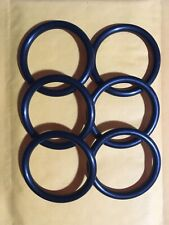 """326 Buna-N O-Ring 70A durometer 1/-5/8"""" Id, 2"""" Od"""", 7/32"""" thickness, lot of 6"""
