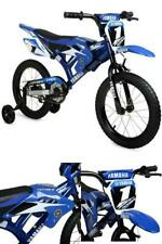 "Kids Speed Bike 16"" Moto Yamaha Motorcycle Boys Child Bicycle w./ Training Wheel"