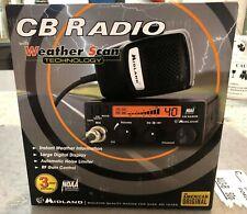 Midland 1001LWX 40-Channel Digital Tuner CB Radio with Weather Scan Brand NEW