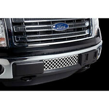 NEW PUTCO Stainless Steel Diamond  Bumper Grille Insert / FOR 2009-14 FORD F150