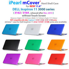 "NEW iPearl mCover® Hard Case for 11.6"" Dell Inspiron 11 3162 3164 series laptop"