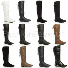 Unbranded Women's Synthetic Block Mid-Calf Boots