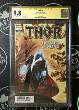 THOR #6 (2020) CGC 9.8 Signed By Donny Cates Avengers Marvel Comics