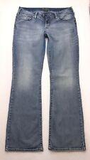 J256 Silver Jeans Tuesday Low Rise Bootcut Super Stretch sz 14 x 33 (34x33) Long