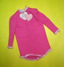 Vtg Barbie Superstar 80s Doll Clothes My First Sweatshirt 1985 2121