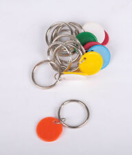 Split Key Rings 25mm with Round Tab pack 10
