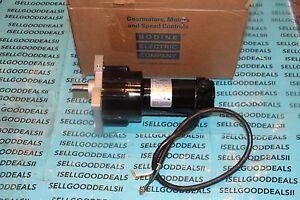 Bodine 24A4BEPM-Z3 Gearmotor 12VDC 24A4BEPMZ3 New