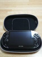 Playstation PS vita  PCH-1000 ZA01 black  console only From JApan