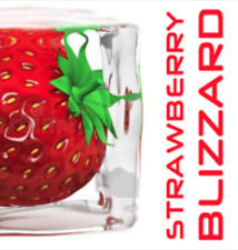 Strawberry Blizzard 30ml Concentrate (Strawberry Menthol) by FlavourMeister