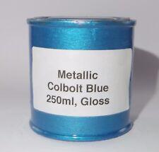 250ml Colbolt Blue METALLIC Gloss Heat Resistant Paint Engine Caliper Brake Car