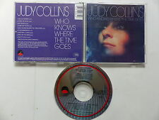 CD Album judy COLLINS Who knows where the time goes 74033-2