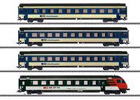 Märklin H0 42175 Schnellzugwagen-Set EW IV der BLS mit LED-Beleuchtung NEU + OVP