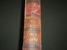 1904 APRIL-SEPTEMBER THE BURLINGTON MAGAZINE BOUND VOLUME NO. 5 - R 699