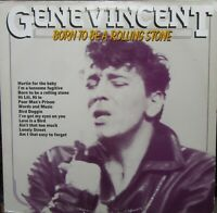 GENE VINCENT BORN TO BE A ROLLING STONE LP Masters MA 11101183 EX-