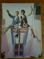 Bill & Ted's Excellent Adventure  Pin up Poster  Alex Winter Keanu Reeves.