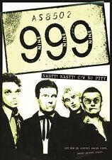 "999 - Nasty Nasty Nick Cash 1977 Promo Punk Poster Size 84.1x59.4cm - 33""x24"""