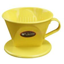 Coffee Filter Manual Coffee Dripper for Brewing Flavorful Coffee - Yellow