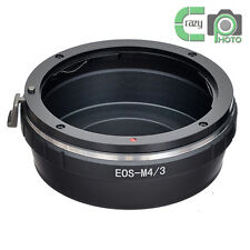 EOS-M4/3 for Canon EF Lens to Micro 4/3 M43 MFT Mount Adapter GX1 EP5 E-M5 EM1