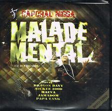 CD album: Caporal Nigga: malade mental: 9 titres. autoproduit. D1