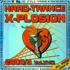 Hard-Trance X-plosion XVIII (2000/3) Push, Godazia, Roland Klein, Dito,.. [2 CD]