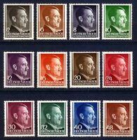 DR Nazi 3rd Reich Rare WWII WW2 Stamp GG Hitler Head Swastika Birthday in Poland