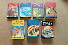 Complete set of Harry Potter books 1-7 Hardback Bloomsbury Very Good Condition