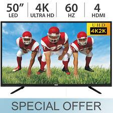 "RCA 50"" Inch 4K ULTRA HD 2160p LED TV 60Hz w/ 4 HDMI RLDED5098-UHD - NEW"