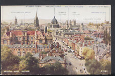 Oxfordshire Postcard - General View of Oxford     RS9433