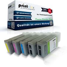 5x XXL Cartuchos de tinta para Canon imageprograf-ipf755 Set PFI102