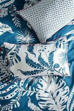 Anthropologie Pillow Shams, Palmera Collection, Cotton, Standard, Set of 2, NWT