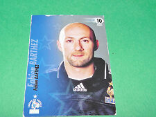 FABIEN BARTHEZ EQUIPE FRANCE BLEUS PANINI FOOTBALL CARD 2002