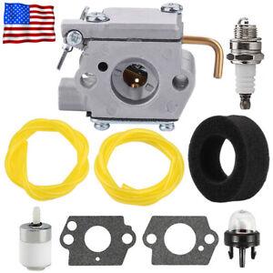 Carburetor For Bolens BL410 BL100 BL150 BL250 Gas String Trimmer fuel Line kit