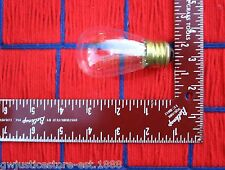 Clear Edison 11w outdoor S14 sign marquee 11S14 Light Bulb ~Extras ship for 7¢