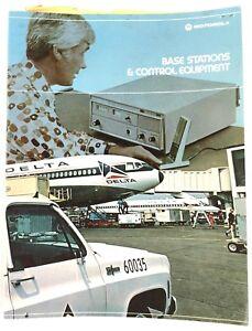 Motorola Base Stations Control Equipment CB Systems 1974 Sales Brochure Catalog