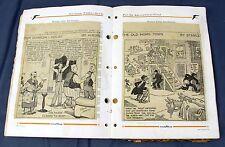 100+ Antique 1920's Era Newspaper Comics & Poems Gene Ahern JR Williams Stanley