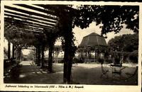 Schömberg Schwarzwald alte Postkarte 1956 gelaufen Partie im Kurpark Pavillion