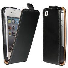 Apple iPhone 4  4S Tasche Cover Flip Case für Handy Schutz Hülle Schale Etui