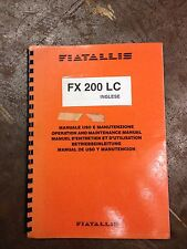 FIAT ALLIS FX 200 LC OPERATION & MAINTENANCE MANUAL